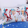 Snowman Christmas Bedding Set Bedding Cover Set BeddingOutlet