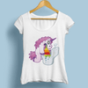 Spin Rainbow Unicorn Women T-Shirts Women T-Shirts JollyPeach S