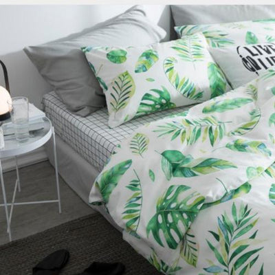 Spring Leaves series Bedding sets Bedding Cover Set Svetanya
