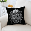 Sugar Skull Cushion Cover Cushion Cover BeddingOutlet 45cmx45cm