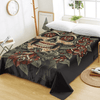 Sugar Skull Gothic Flat Sheet Bedding Covers Sheets BeddingOutlet Twin