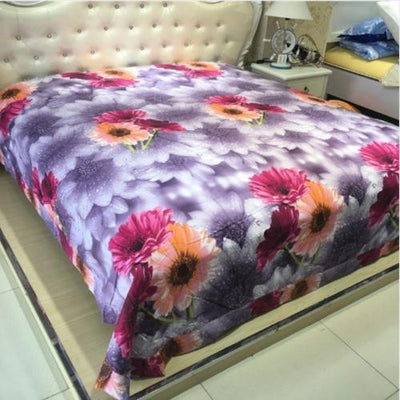 Sunflower Printed Bedding Set Bedding Cover Set Svetanya