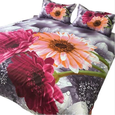 Sunflower Printed Bedding Set Bedding Cover Set Svetanya Single