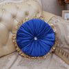 Svetanya Royal Blue Round Cushion Cushions Svetanya