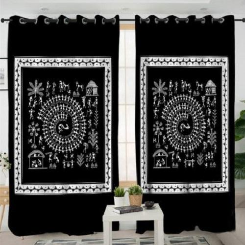 Traditional Blackout Window Curtain Window Curtain BeddingOutlet W100xH130cm
