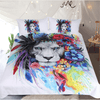 Tribal Animal Printed Duvet Cover Bedding Cover Set BeddingOutlet Single