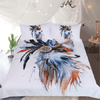 Tribal Animal Watercolor Duvet Cover Bedding Cover Set BeddingOutlet AU Single