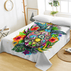 Turtle Life Bohemian Animal Flat Sheet Bedding Covers Sheets BeddingOutlet Twin