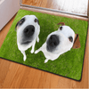 Two Bulldogs Floor Carpets Door & Floor Mats HUGSIDEA 400mm x 600mm