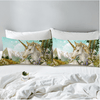 Unicorn Romantic Watercolor Pillowcase Pillowcases BeddingOutlet 50cmx75cm