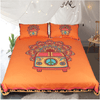 Vintage Car Bedding Set Orange Bedding covers BeddingOutlet Single