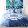 Vintage Cobalt Blue Mandala Bedding Set Bedding covers BeddingOutlet Single