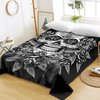 Vintage Floral Skull Bed Sheet Bedding Covers Sheets BeddingOutlet Twin