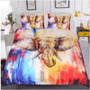 Watercolor Elephant Bedding Set Bedding Set BeddingOutlet Single