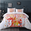 White And Red Bedding Set Bedding Set BeddingOutlet Single