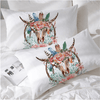 White Dream Catcher Cow Skull Pillow Cases Pillowcases Blessliving Queen 50cmx75cm