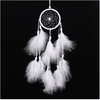 White Handmade Dream Catcher Wind Chimes Dream Catcher Wind Chimes NAI YUE