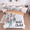 Wild Child Dreamcatcher Bedding Set Bedding covers Svetanya Single