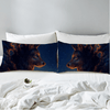 Wolf And New Moon Pillow Case Pillowcases BeddingOutlet 50cmx75cm