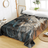 Wolf Printed Dreamcatcher Flat Sheet Bedding Covers Sheets BeddingOutlet Twin