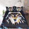 Wolf Vivid Duvet Cover Set Bedding Cover Set BeddingOutlet Single