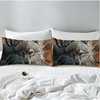 Wolf Warrior Pillow Case Pillowcases BeddingOutlet 50cmx75cm