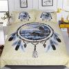 Wolves Dreamcatcher Bedding Set Bedding Cover Set BeddingOutlet AU Single