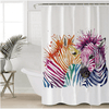 Zebra Decorative Shower Curtain Shower Curtains BeddingOutlet 90x180cm