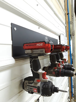 Cordless Drill Driver Organizer Hanging Mount Cordless Tool Storage - Speed Fabrication