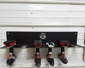 Cordless Drill Driver Organizer Hanging Mount Cordless Tool Storage Cordless Drill Holder Power Deck
