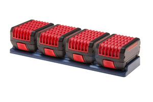 Bosch 18V 4-unit Battery Holder - Speed Fabrication