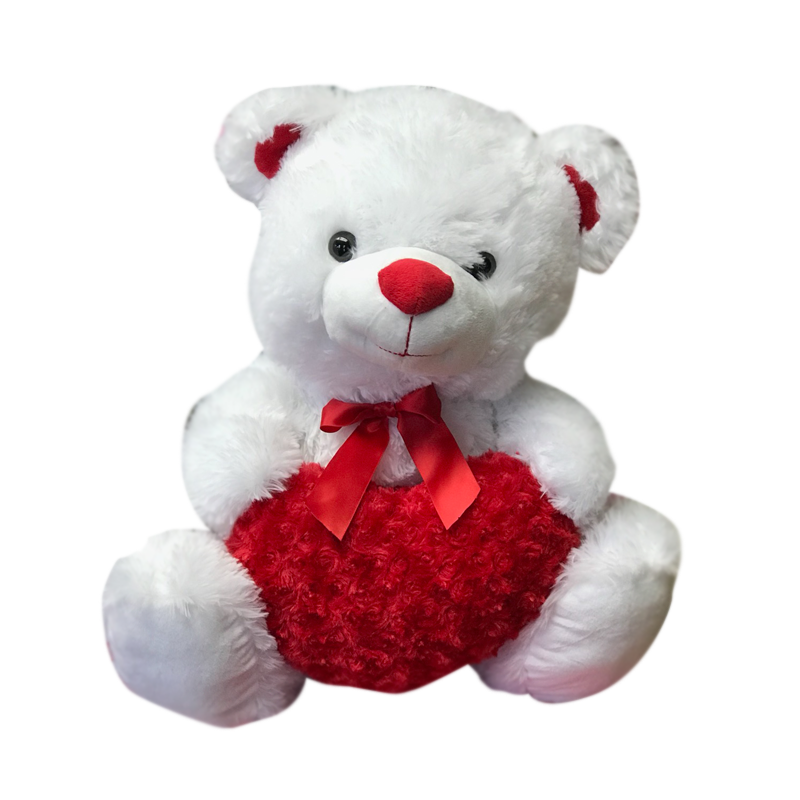 Plush Valentine's Day Bears