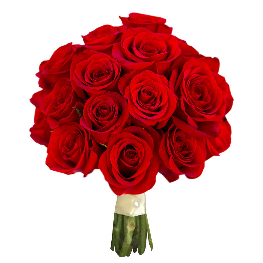 Red Rose Wedding Bouquet Tunies Floral Expressions