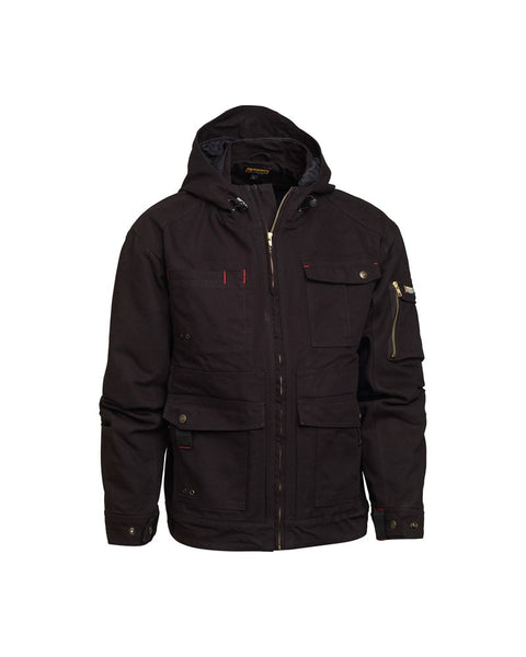 4th of July Sale: 4092 BRAWNY CANVAS JACKET WITH HOOD