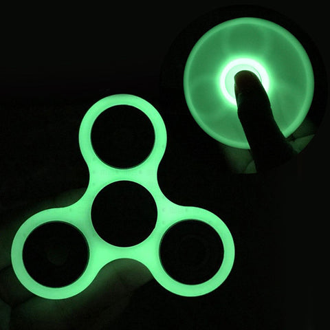 NEW Fidget Finger Hand Spinner Glow In The Dark