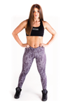 Ignite Cross Leggings - Charcoal