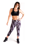 Ignite Sunset 3/4 Leggings - Charcoal
