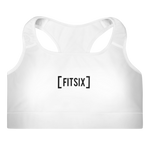Bracket Sports Bra - White