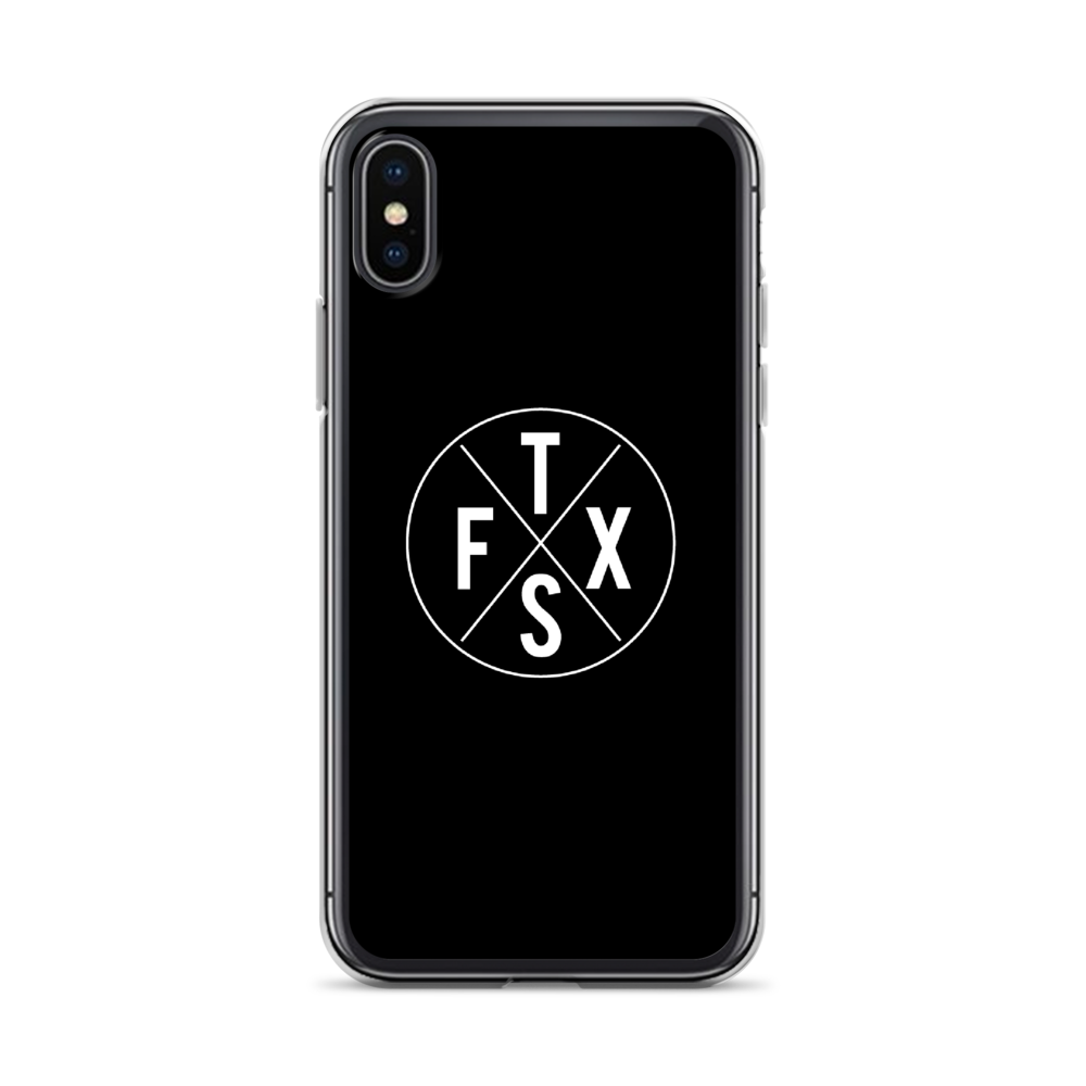 iPhone X-Case - Black
