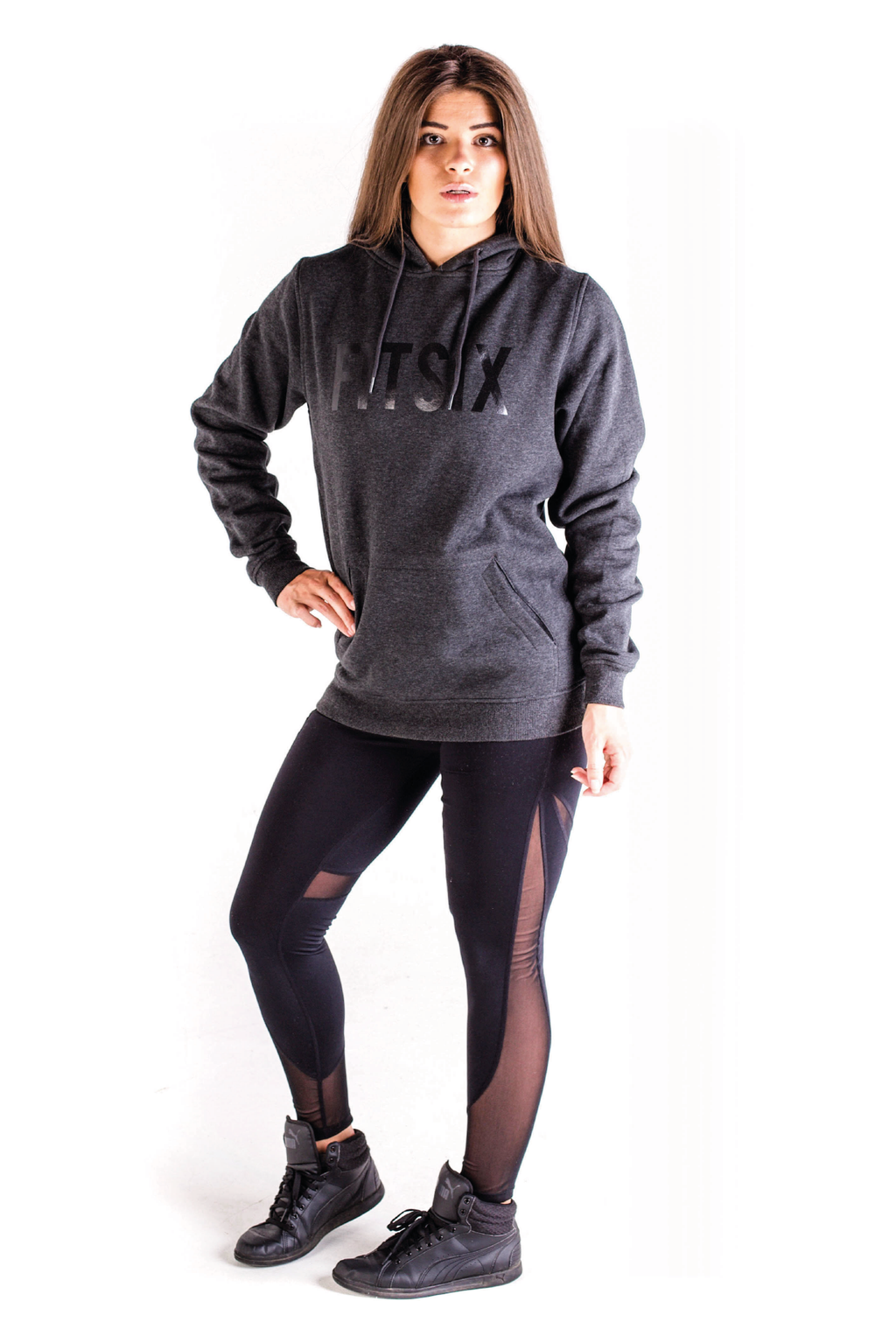 Women's Stealth Hoodie - Charcoal