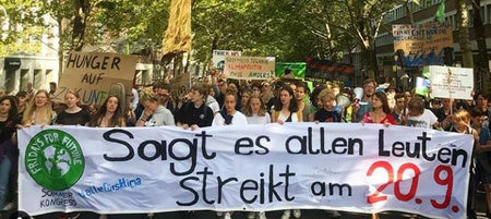 SIRPLUS is on strike at the 20. September for the climate and calls everyone to join!