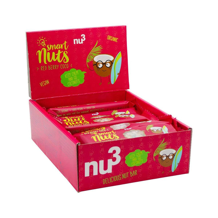 nu3 15x Bio Smart Nuts - Red Berry Coco [Multipack] 35g