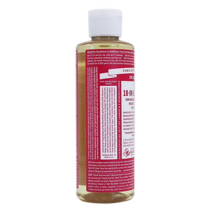 Dr. Bronner's 18-in-1 Naturseife Rose 240ml