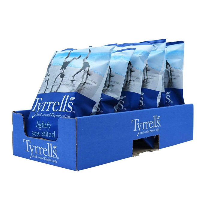 Tyrells 6xTyrells - Hand Cooked Crisps Lightly Salted [Multipack] 40g