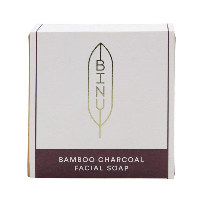 Binu Beauty Binu Beauty Bamboo Charcoal Gesichtsseife, 100g