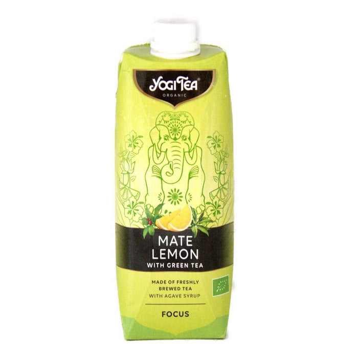 YogiTea Bio Mate Lemon Cold Tea 500ml