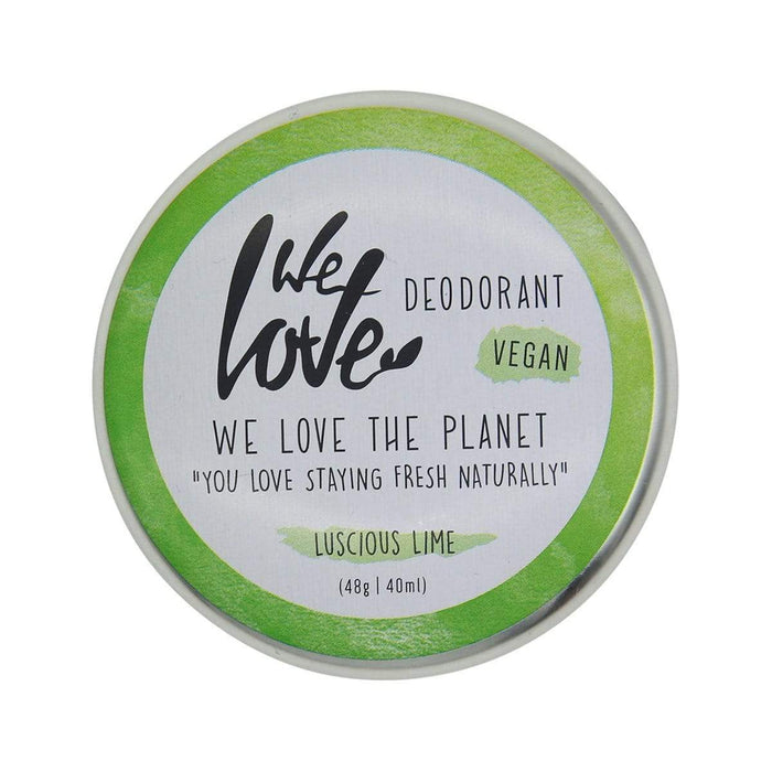 "we love the planet Deocreme ""Lucious Lime"", 48g"
