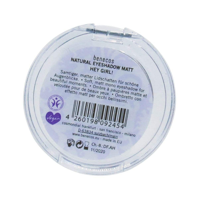 Benecos Natural mono Eyeshadow Matt Lidschatten - Hey girl! 1 Stück