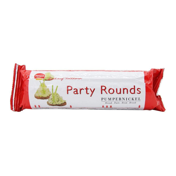 "Pema Pema - Vollkornbrot Party Rounds ""Pumpernickel"" 250g"