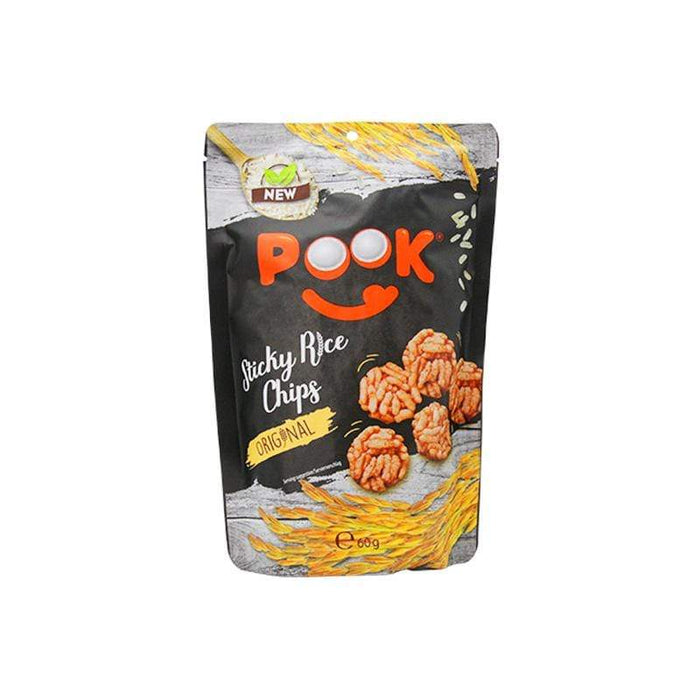 Pook Sticky Rice Chips Original
